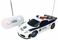 Justice Team Police Rc Police Car 1:20 Scale Full Function Remote Control - F...