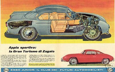 Lancia Flaminia & Lancia Appia Ads & Pics 237 Different