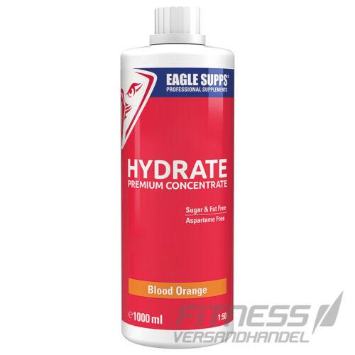 Eagle Supps Hydrate Premium Concentrate Sirup Diät Vitamine 14,49€//L