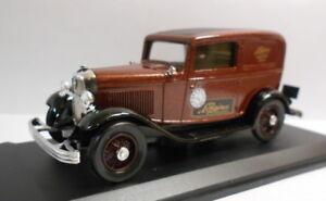 ELIGOR-1-43-escala-Diecast-Modelo-1218-Ford-V8-1932-entrega-Sedan-Longines-Marron