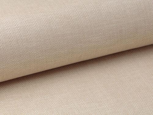 patrón de la raspa de arenque con color amarillento oro revestido. tela de lino 0.5 m