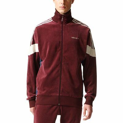 Adidas Originals CLR84 Challenger Velour Track Jacket Burgundy BR2284 Men XL 410018022664 | eBay