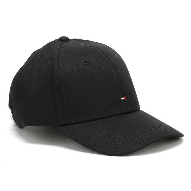 Tommy Hilfiger Unisex Baseball Hat Flag Black Classic BB Cap 031df7e970e7