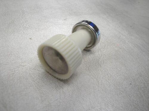 59 1959  FORD FAIRLANE CIGAR LIGHTER  KNOB WHITE   NEW