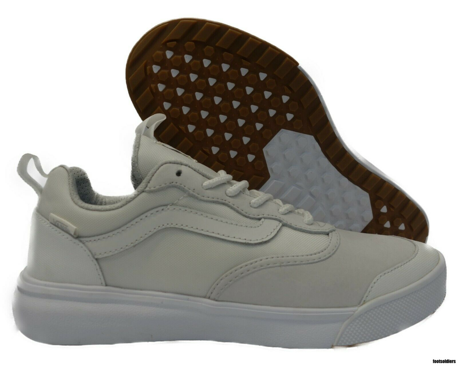 VN0A3DQ3OVZ VANS Ultra LX (blancoo Luz Range Goma) Hombre Mujer