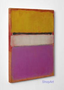 Quadro Astratto Mark Rothko Untitled Stampa su Tela Canvas Vernice Pennellate