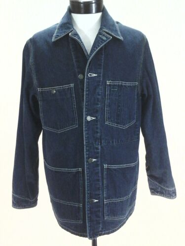 Oshkosh B'gosh Denim Jacket Barn Chore Coat Logo B