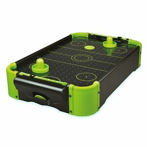 Neon-Table-Air-Hockey-Game-Kids-Childs-Adults-Arcade-Fun-Novelty-Gift-Toy