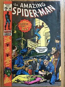 Amazing-Spider-man-96-VG-3-5-No-Comics-Code-Drug-Issue-Green-Goblin