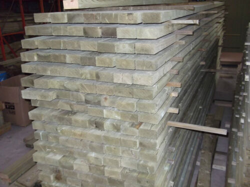 4.8m x 95mm x 45mm graded C16//24 eased edged carcassing treated
