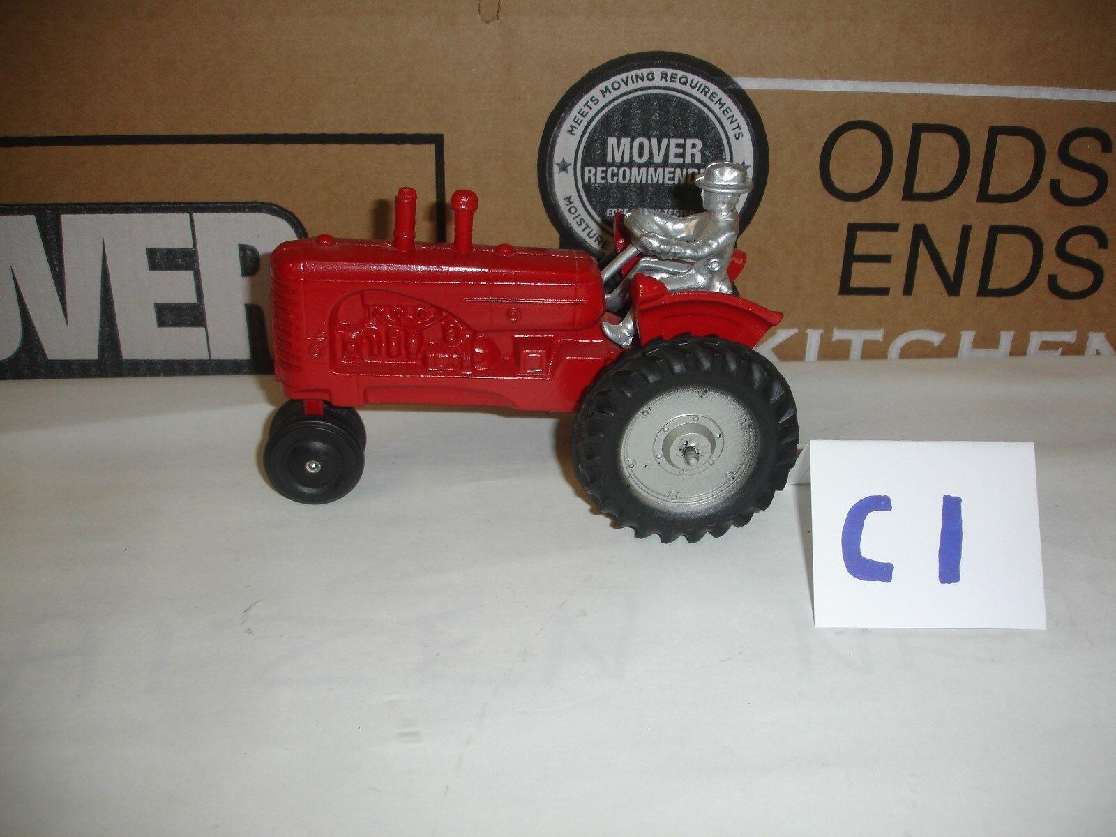 Tractor De Juguete 1 16 Massey Harries Slick