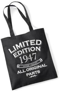 70. Geburtstagsgeschenk Tragetasche MAM Einkauf Limitierte Edition 1947 alle