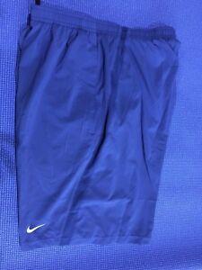 "Sizes M /& L NWT Nike Men 9/"" Dri Fit Distance Blue  Running Short - 695443-458"