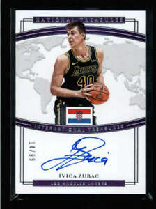 IVICA-ZUBAC-2018-19-NATIONAL-TREASURES-INTERNATIONAL-AUTOGRAPH-AUTO-99-AX4225