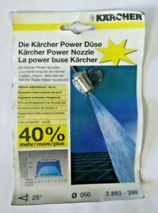 Kärcher 2.883-399 Karcher Ugello diametro 50 angolo 25° potenza 40% in più