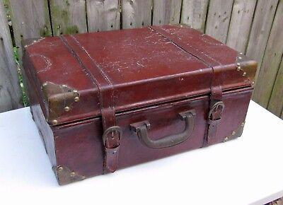 Nesting Set 3 Decorative Suitcase Trunk Travel Decor Stacking 17 X