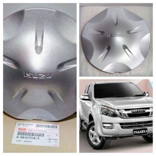 X4 ISUZU D-MAX GENUINE PARTS COVER CAP WHEEL SILVER ALL NEW D-MAX PICK-UP 4WD