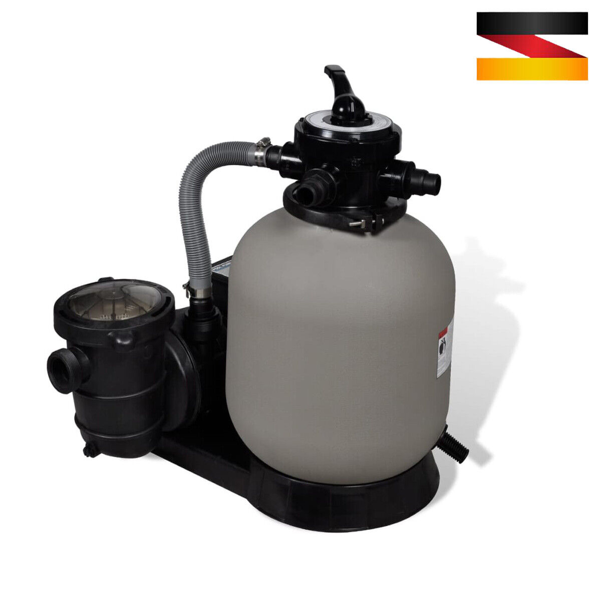 vidaXL Wasserpumpe Langlebig Poolfilter Poolpumpe Umwälzpumpe 3-Modell Neu