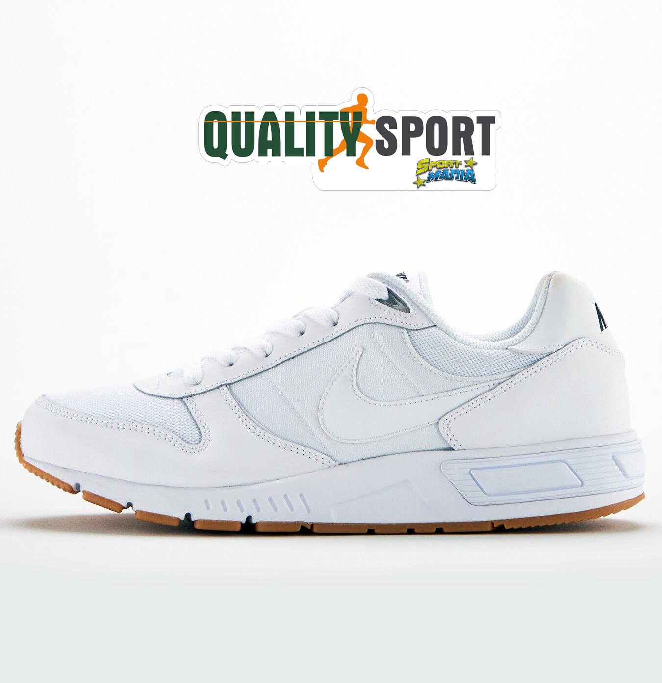 Nike Nightgazer Bianco Bianco Bianco shoes shoes men Sportive Sneakers 644402 101 ce4e3d