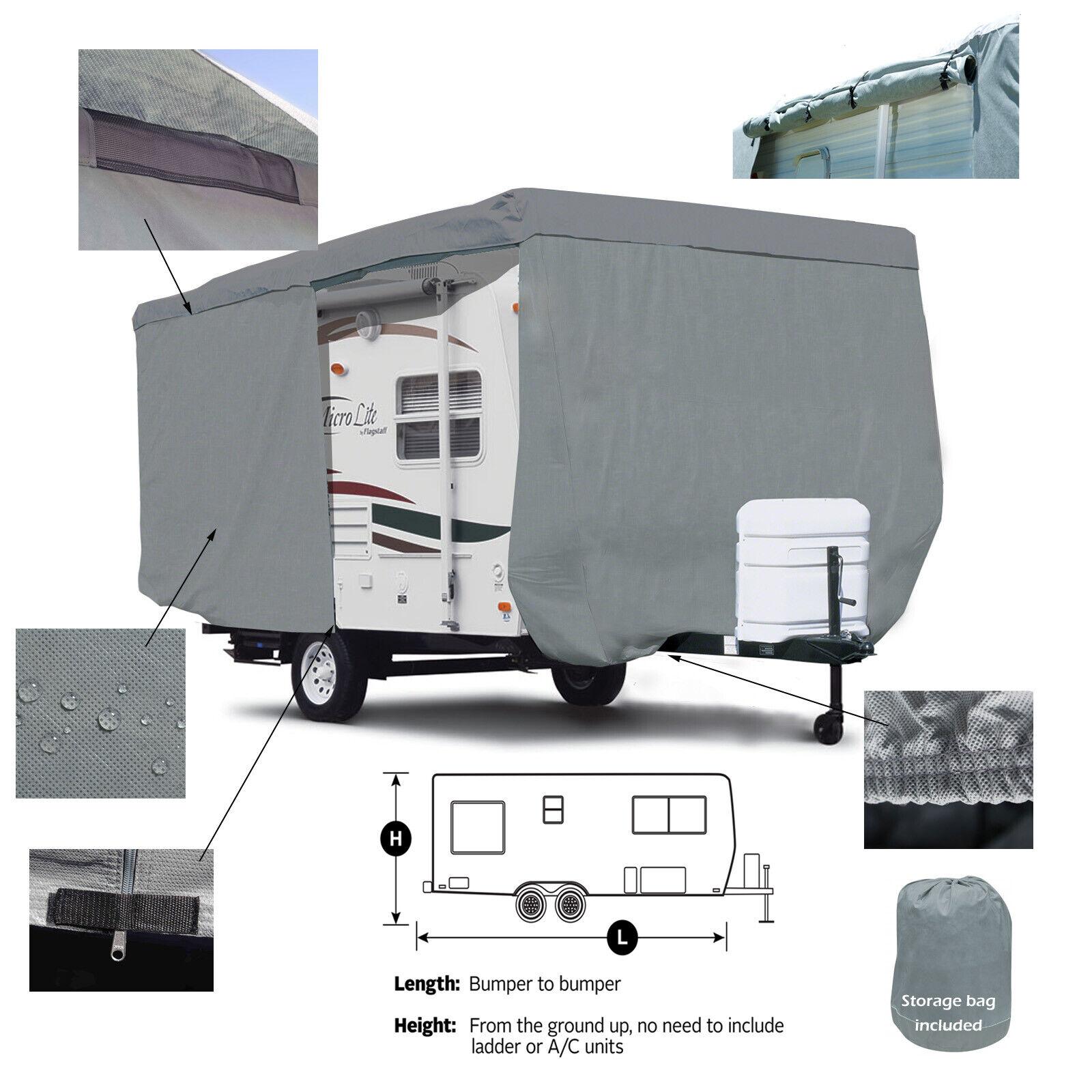 Deluxe Aristocrat Lo Liner 16 Camper Travel Trailer Cover For Sale Online Ebay