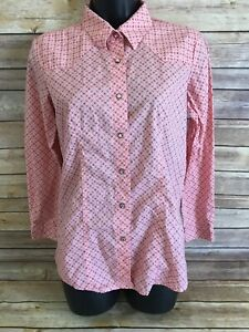 Cruel-Girl-Pearl-Snap-Shirt-Size-XXL-14-16-Girls-Pink-Western-Long-Sleeve-top