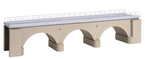 Kibri H0 39721 Steinbogenbrücke mit Eisbrecherpfeilern gerade,