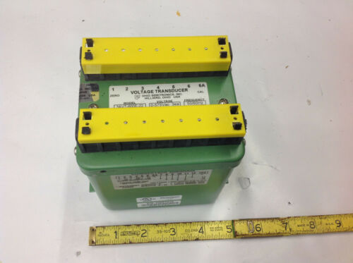 4-20mAdc Out NEW Ohio Semitronics 3AVT-600E-22 Voltage Transducer 0-575Vac 3ea