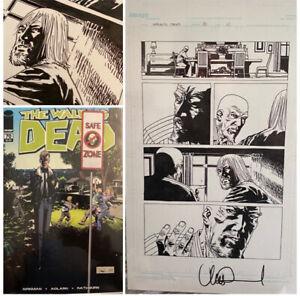 WOW! — The Walking Dead #70 p.10, SIGNED Charlie Adlard Original Art, Kirkman