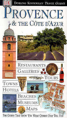"""""""AS NEW"""" Provence and Cote d'Azur (DK Eyewitness Travel Guide), roger williams,"""