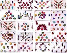 Indian Bindi :: 20 Assorted Packs :: Bindiya :: Kumkum :: Forehead Art