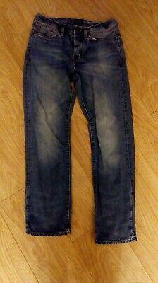 100% Vero Jeans Da Uomo Taglia 32-mostra Il Titolo Originale