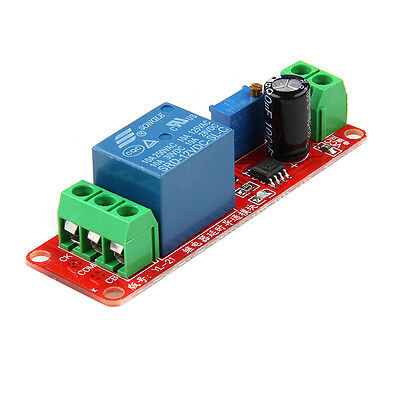 12V NE555 Oscillator Delay Adjustable Timer Relay Switch Module 0-10 Second