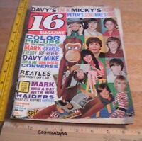 16 Magazine 1967 The Monkees Paul Revere & Raiders Beatles Doors Davy Jones