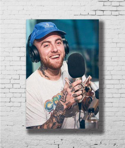 Hot Gift Poster Mac Miller Rapper Rap Music 40x27 30x20 36x24 F-2234