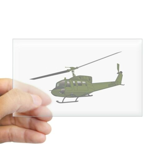1115244545 CafePress Huey Helicopter UH 1 Color Sticker Sticker rect.