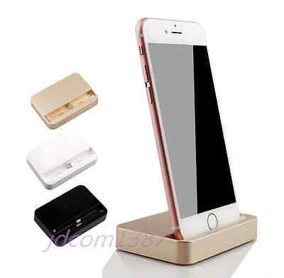 USB Data Sync Cradle Dock Charger Charging Station For iPhone 5 5S 5C 6 6S Plus