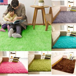 Con pelo peloso tappeti antiscivolo area sala da pranzo camera letto casa e ebay - Tappeti camera da letto ...