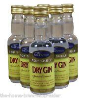 Still Spirits Dry Gin Top Shelf Spirit Essence X 6 Bottles - Home Brewing