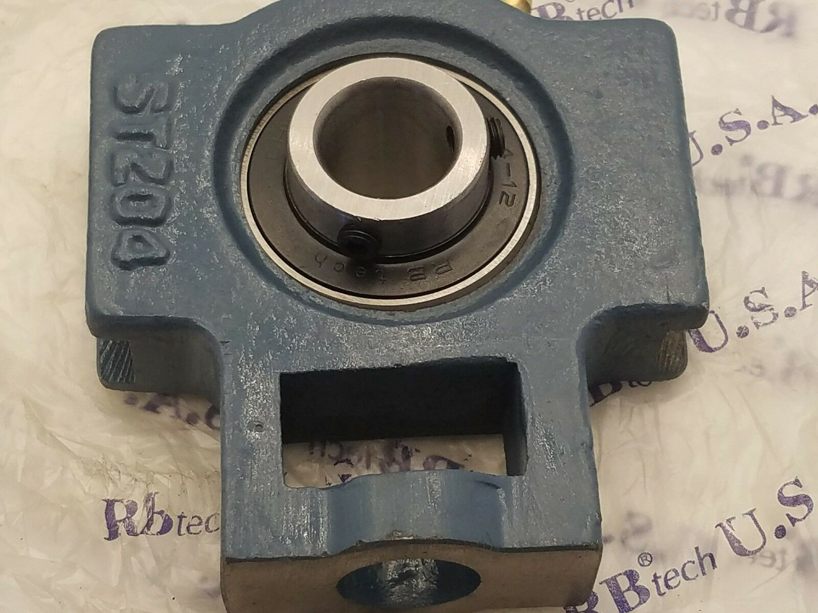 """NEW UCST204-12  High Quality 3//4/"""" Set Screw Wide Slot Take Up Bearing"""