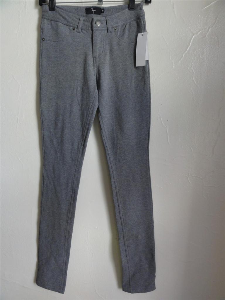 AQUA COTTON LEGGINGS, Grey, Size S, MSRP  78