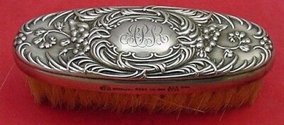 "Furniture Dresden By Whiting Sterling Silver Shoe Brush 3 7/8"" Antiques"