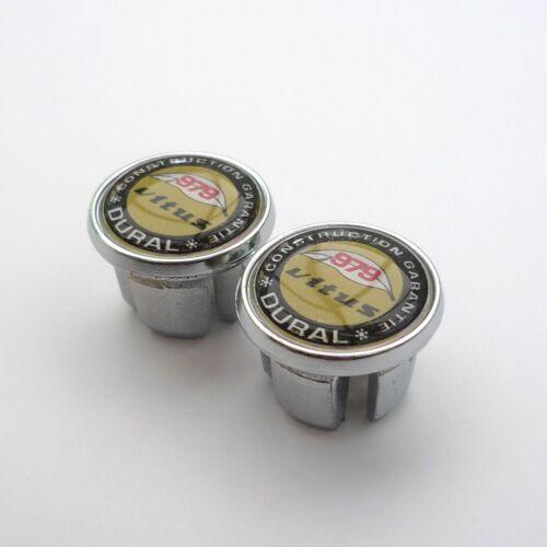 Vitus 979 Dural Repro Chrome Racing Bar Plugs Vintage Style Caps