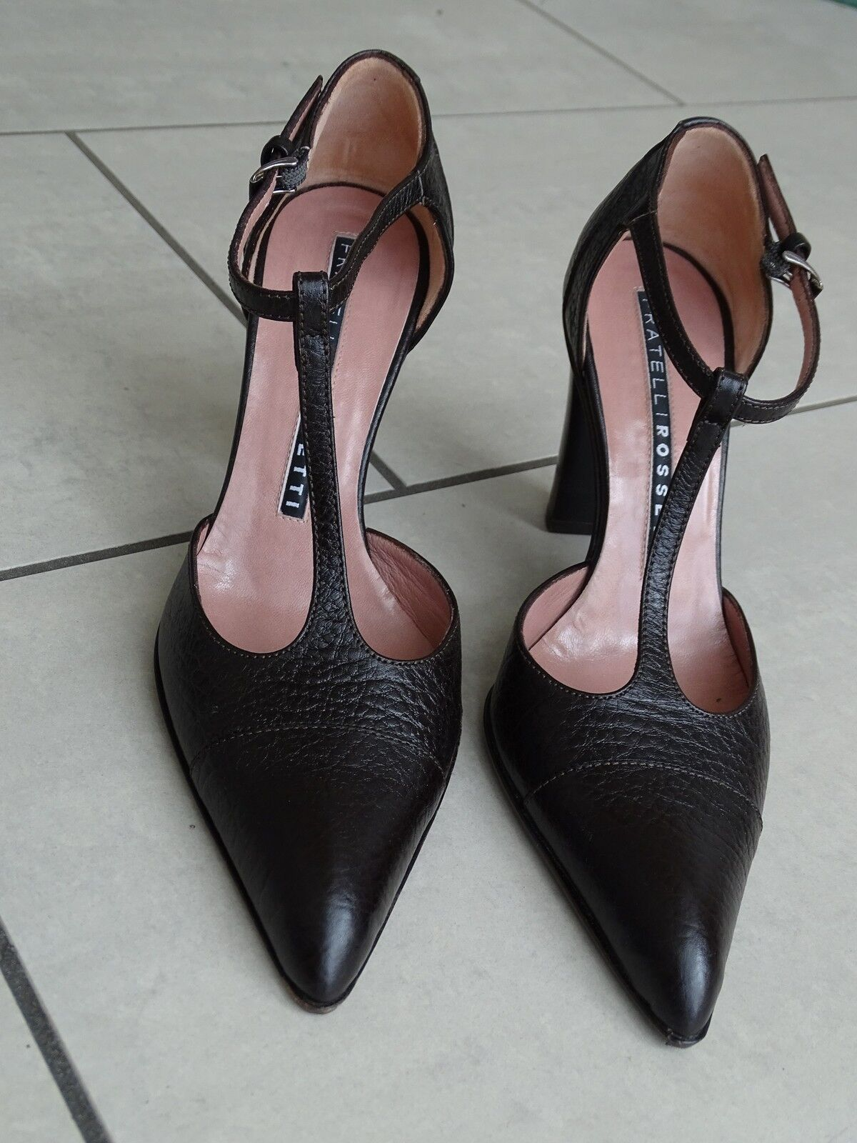 Fratelli Rossetti Pumps Italy braun Leder Made in Italy Pumps  Gr. 36 w. neu 97ea4a