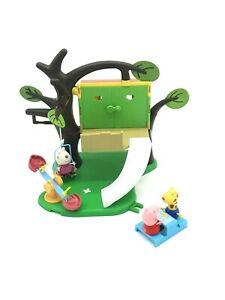 PEPPA-PIG-AND-Figuras-GEORGE-Com-Casa-da-Arvore-Playground-Playset