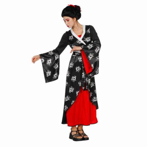 NEU Damen-Kostüm Asiatisches Kleid Geisha Asia Style Japan China Geishakostüm