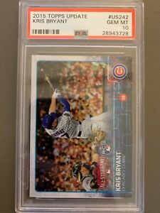 2015-Topps-Update-KRIS-BRYANT-RC-US242-PSA-10-Chicago-Cubs