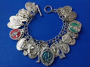 Medals steel bracelets