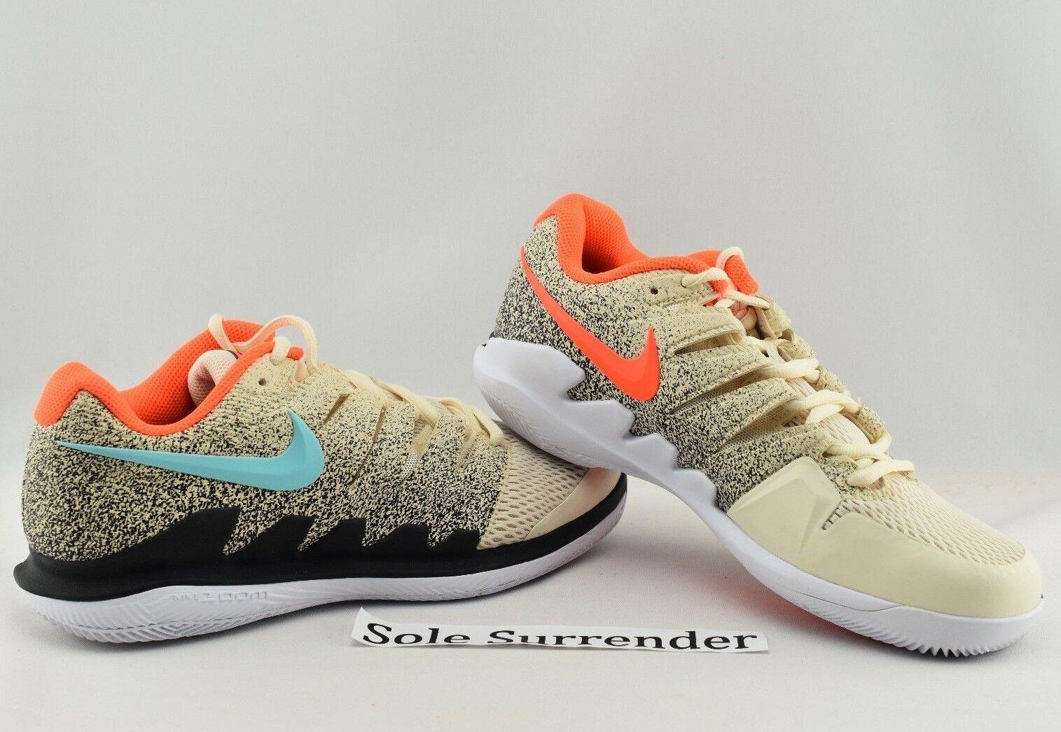 82140c5ed41f Nike Air Zoom Vapor X HC HC HC -SIZE 10.5 - AA8030-200 Roger Federer ...