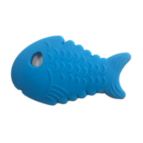 Baby Teething Toys Infant Toys Soft Silicone Cute Fish Shape Teethers G
