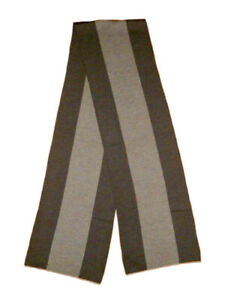 Gucci-Brown-And-Tan-Web-100-Wool-Scarf-Rectangle-New-With-Tags-169